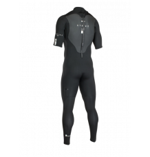 ION Strike Core Short Sleeve Steamer 3/2mm Wetsuit (Black) 2020