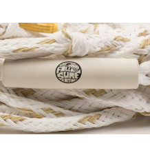 Follow Surf Package Wakesurf Rope/Handle (Tan/White)