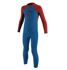 O'neill Toddler Reactor II 2mm Wetsuit (Ocean/Graph/Red)