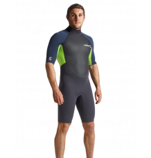 C-Skins Element 3/2mm Shorty Wetsuit (Anthracite/Blue Stone)