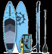 "Slingshot Crossbreed 11'0"" x 34"" SUP Package 2020 (Blue)"