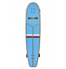 "Hamboards Huntington Hop 3'9"" Longboard (LBRW Comp Stripes)"