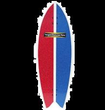 "Hamboards Pescadito 3'7"" Surf Skate Shortboard (Dart)"