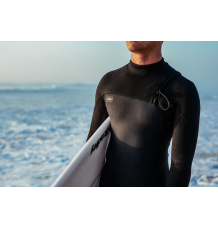 O'Neill Hyperfreak Comp 5/4mm Zipless Wetsuit (Gunmetal/Black)