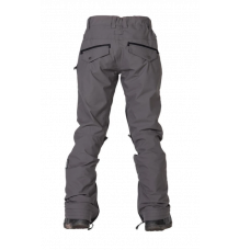 Nikita Womens White Pine Stretch Snow Pant (Steel Grey)
