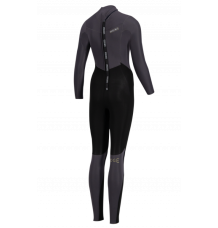 Prolimit Womens Edge 5/3mm Back Zip Wetsuit (Black Satin)