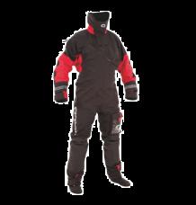 Typhoon Max-B Drysuit + Fleece Undersuit (Black/Red)