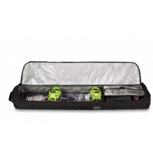 Dakine Low Roller Wheeled Snowboard Bag (Deep Red)