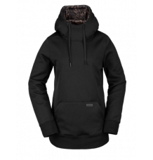 Volcom Yerba Pullover Fleece (Black Red)