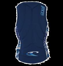 O'Neill Womens Slasher Comp Impact Vest (Navy/Indy Patch)