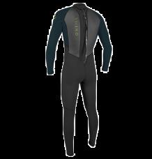 O'Neill Youth Reactor II 3/2mm Wetsuit (Black/Slate)