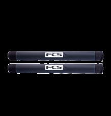 FCS 740mm Roof Rack Pads (Black)