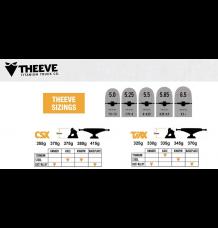 Theeve CSX V3 Skateboard Truck (5.50)