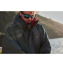 Red Paddle Co Long Sleeve Pro Change Jacket (Grey/Red)