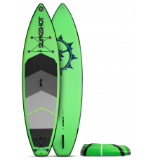 "Slingshot Crossbreed 11'0"" x 34"" SUP Package 2021 (Green)"