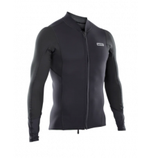 ION 2/1mm Neoprene Zip Top (Black)