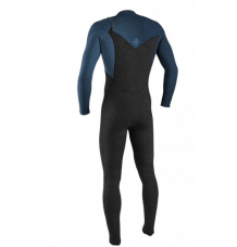 O'Neill Hyperfreak 3/2+mm Chest Zip Wetsuit (Acid Wash/Abyss)