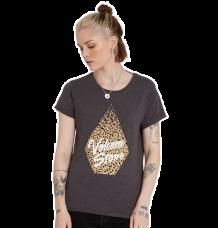 Volcom Womens Radical Daze Tshirt (Char)