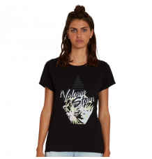 Volcom Womens Radical Daze Tshirt (Blck)