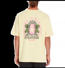 Volcom Believe In Paradise Tshirt (Yellow)