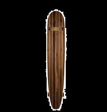 "Hamboards Logger 5'0"" Surf Skate Longboard (Walnut)"