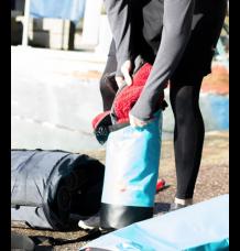 Red Original 10L Waterproof Roll Top Bag (Blue)