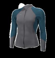 O'neill Womens Blueprint 2/1.5 Front Zip Neoprene Jacket