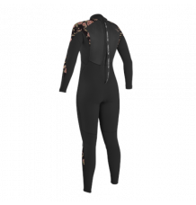 O'Neill Womens Epic 3/2mm Wetsuit (Black/Flo)