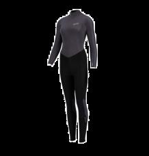 Prolimit Womens Edge 3/2mm Back Zip Wetsuit (Black Satin)