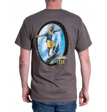 Rietveld Surfin Al Tshirt (Charcoal)