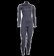 ION Womens Amaze Core Semidry 5/4mm Chest Zip Wetsuit (Steel Grey)
