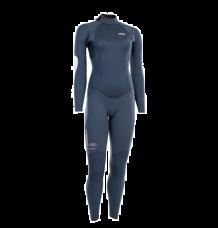 ION Womens Element 5/4mm Back Zip Wetsuit (Dark Blue)