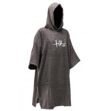 Tiki Towel Poncho/Changing Robe (Grey)