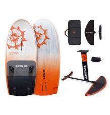 Slingshot Levitator 160L + FWind V3 Windsurf Foil Package - Wetndry Boardsports
