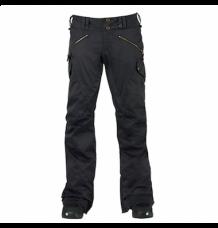 Burton TWC Hot Shot Womens Snowboard Pants (True Black) 2016