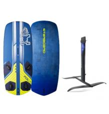Starboard Freeride 125L + GT Alluminium Windsurf Foil Package - Wetndry Boardsports