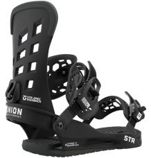 Union STR Snowboard Binding 2021 (Black)