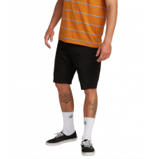 Volcom Frckn Mdn Strch Shorts (Black)