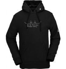 Volcom JLA Pullover Fleece (Black)