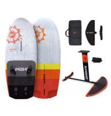 Slingshot Wizard 125L + FWind  V3 Windsurf Foil Package- Wetndry Boardsports
