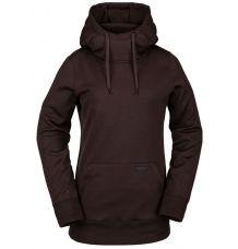 Volcom Yerba Pullover Fleece (Black Red)