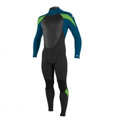 O'Neill Youth Epic 4/3mm Wetsuit (Black/Ultra/Day Glo)