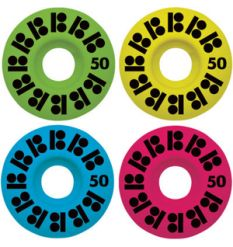 Plan B - Team DayGlo Skateboard Wheels 52mm