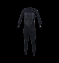 O'neill Psychotech 5.5/4mm Chest Zip Wetsuit (Black/Black)
