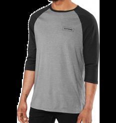 Dakine Walker 3/4 Baseball T-Shirt (Black/Grey)