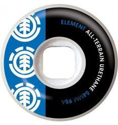 Element Section Skate Wheel Blue/Black (54mm)