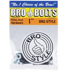 "Bro Style Bro Skateboard Bolts (1"")"