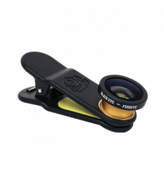 Black Eye Fisheye Lens