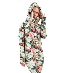 Eivy Icecold Zip Hooded Top (Autumn Bloom) - Wetndry Boardsports