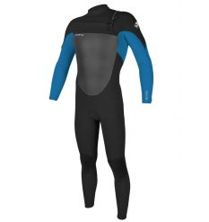 O'neill Epic 3/2mm Chest Zip Wetsuit (Black/Ocean)